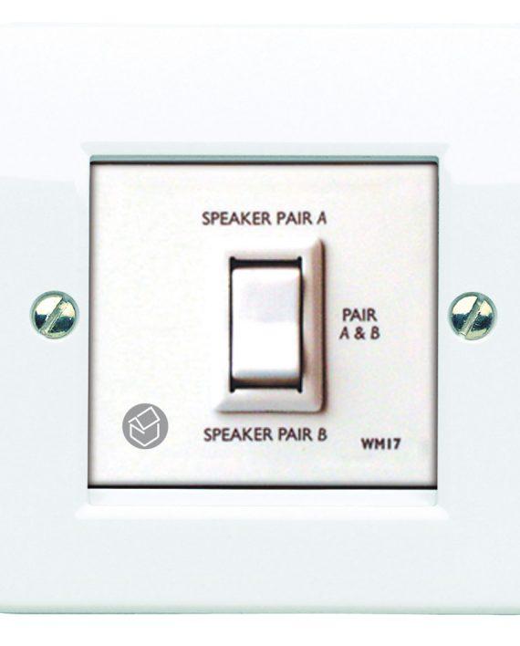 wm17 series two way speaker switch