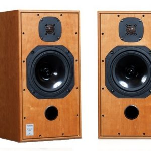 Harbeth Compact 7ES-3 Speakers in cherry finish